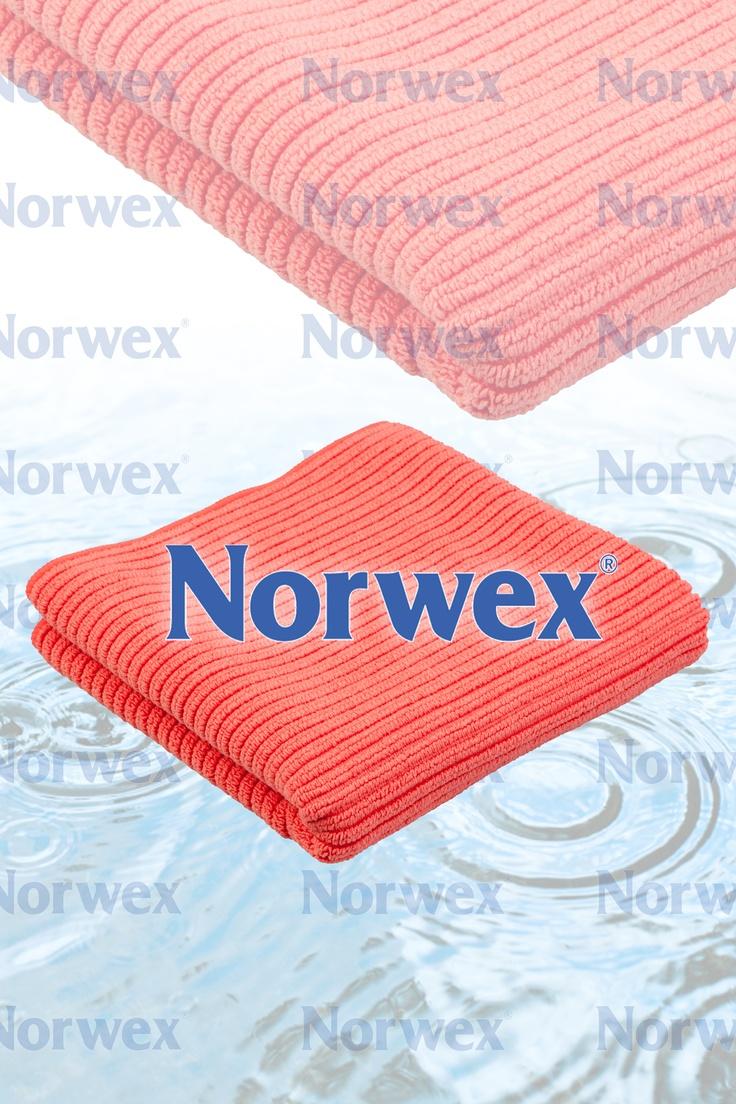 Norwex Kitchen Cloth Towel Set Salmon