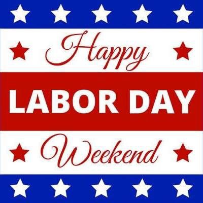 Happy Labor Day Weekend! ❤️