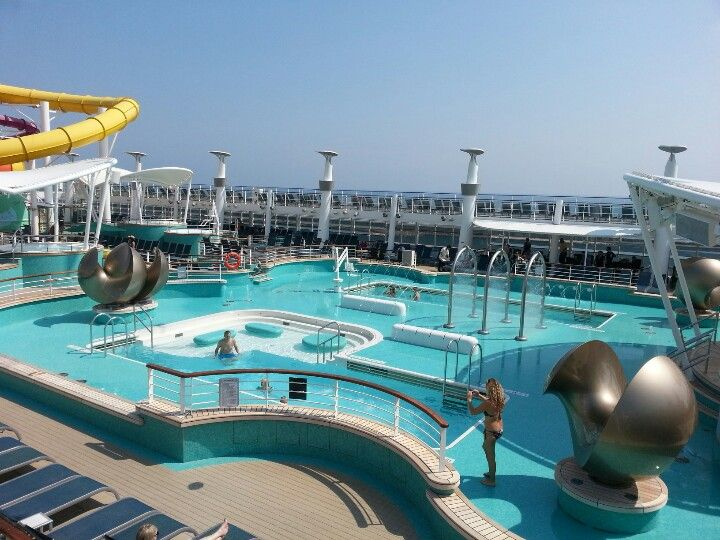 NCL Epic Pool Mediterrainian Cruise Pinterest Pools Norwegian Line And Cruises