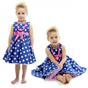 RYB Blue Polka Mad Men Dress  $49.99 Limited Sizes Left