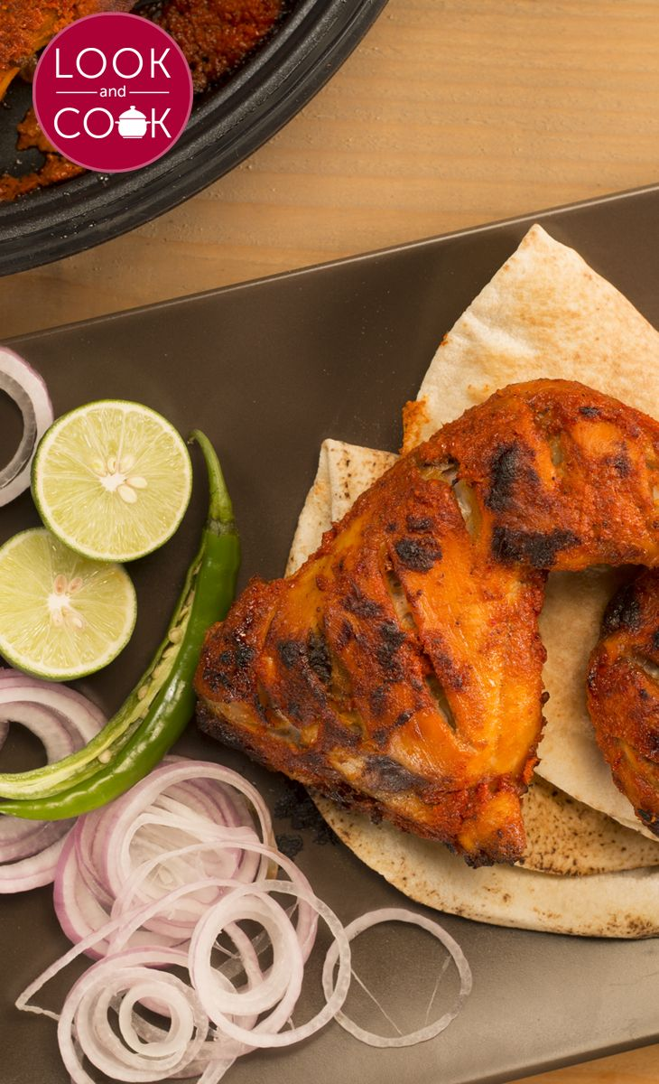 48 best look and cook indian recipes images on pinterest indian how to make tandoori chicken forumfinder Image collections