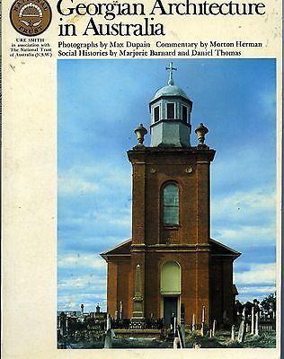 Georgian Architecture in Australia by Morton Herman Max Dupain used paperback