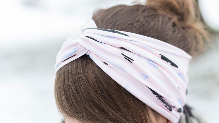 Turban-Stirnbänder wärmen stylisch die Ohren – und sehen einfach superklasse a… – Nähideen