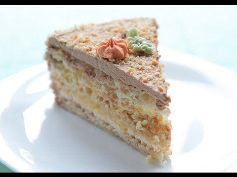 Настоящий «Киевский торт»   Кулинарик