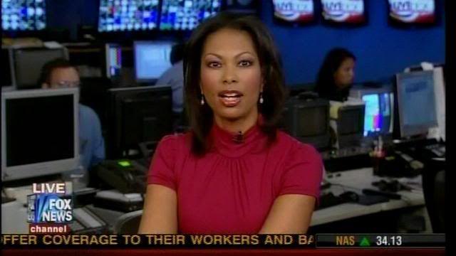 Harris Faulkner | Hot Leggy Harris Faulkner on FOX Live Desk