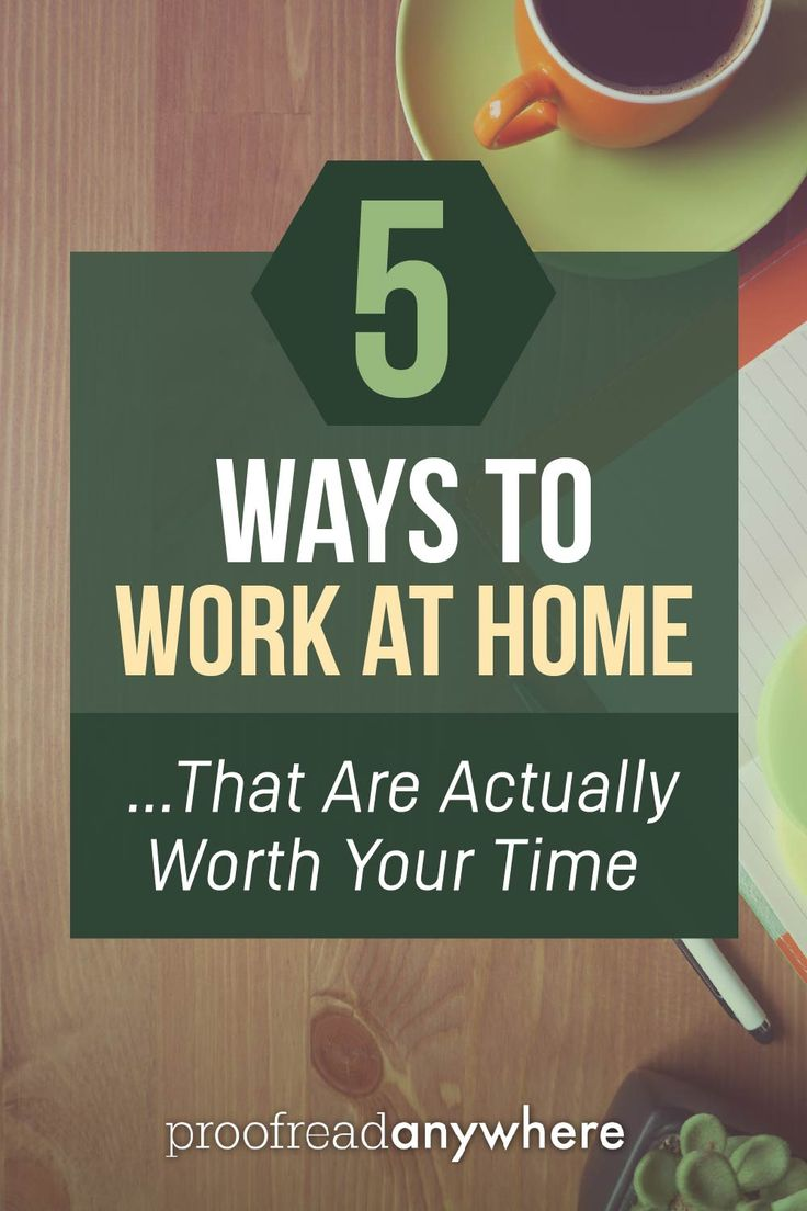 5 ways to work at home -- with free mini courses for each! via @#