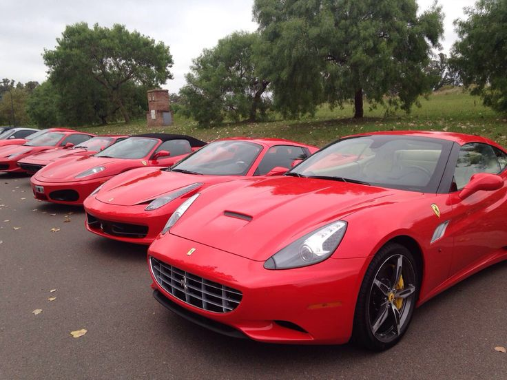 Variedad de Ferrari