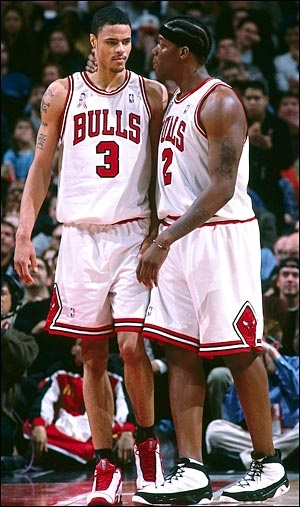 Tyson Chandler & Eddy Curry