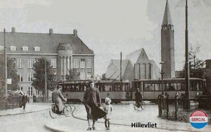 Rotterdam: Het Hillevliet omstreeks 1950