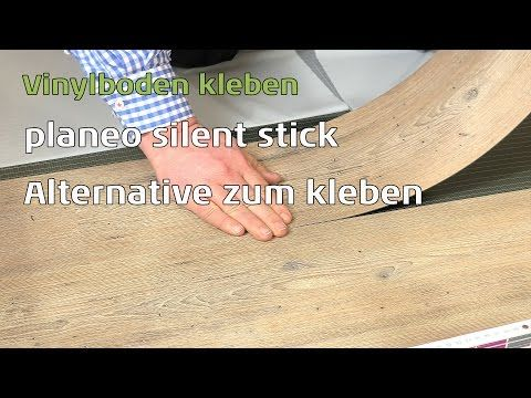 Vinylboden kleben - planeo silent stick die Alternative zum Kleber - YouTube