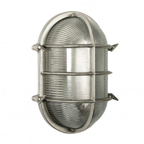 Antiek Zilveren nautische Lamp