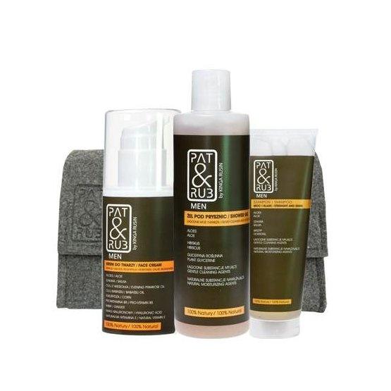 Po co drażnić skórę agresywnymi detergentami myjącymi, substancjami, które tworzą wielką pianę i wysuszają skórę? Proponujemy kosmetyki naturalne, skomponowane z certyfikowanych surowców ekologicznych, łagodne dla skóry i skuteczne w działaniu.   W promocji -25%, a z kodem rabatowym PREZENT taniej o jeszcze 15%, tylko na www.patandrub.pl