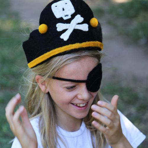 Felt Pirate Costume | Imagination Ideas | Play Dress Up Ideas | Outdoor Play