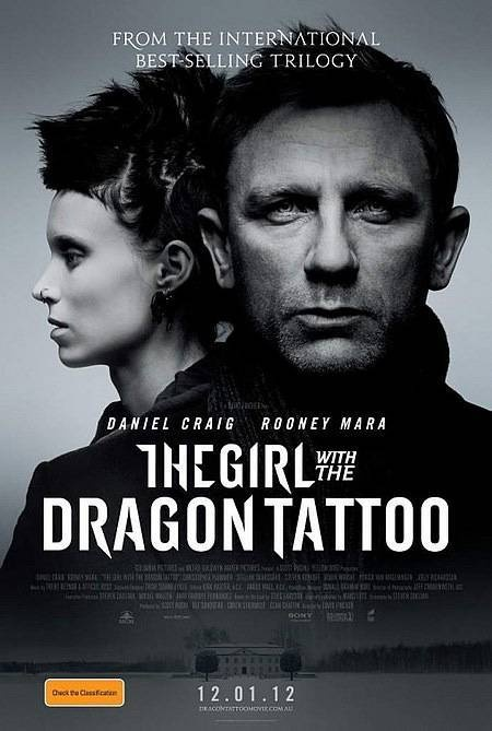 The Girl with the Dragon Tattoo: Movie Posters, Daniel Craig, Great Movie, Dust Wrappers, Books Jackets, Girls Generation, Rooney Mara, Dragon Tattoo, Dust Covers