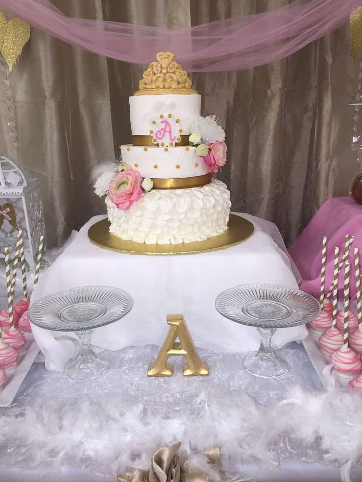 Angel / Heaven Baptism Party Ideas | Photo 16 of 23