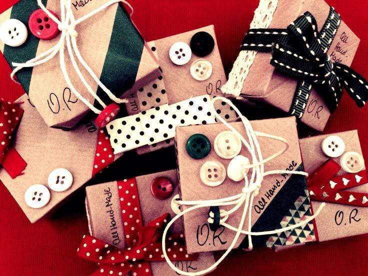 custom gift box / origami box / washi tape / baker's twine / Christmas gifts