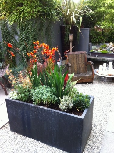 Cool filing cabinet turned planter - what a brilliant idea!