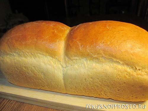 Белый хлеб в духовке7