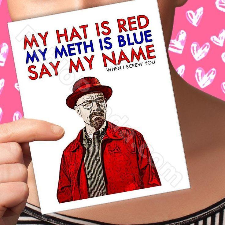 "PAbloPAnda.com – Pablo Panda – My Hat is Red My Meth is Blue Say My Name When I Screw You – ""Anniversary, Breaking Bad, Heisenberg, Love, Pablo Panda,…"