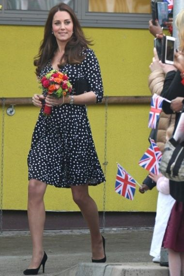 """'I think the fact that Kate Middleton-as-was wears anything that could even be described as """"a wardrobe"""" while eight months pregnant – as opposed to, say, a giant sack, a pair of mismatched pyjamas from The Gap in XXXL or an animal onesie from the Primark sale – proves superhuman qualities on her part.' (Freeman, 30/3/15)."""