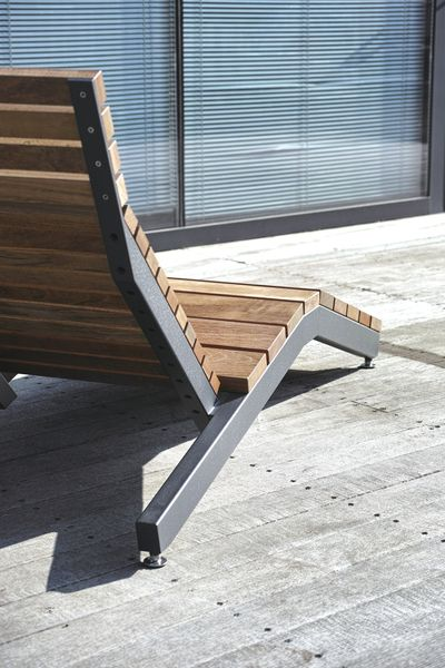 mmcité - products - park benches - rivage