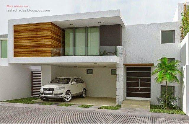 Fachada de casas sencillas y peque as dise o int ext - Diseno de casas pequenas ...