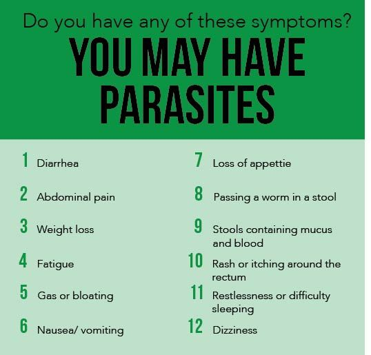 Natural Ways To Rid Your Body Of Parasites