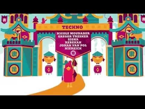 Lief! festival trailer - visuals