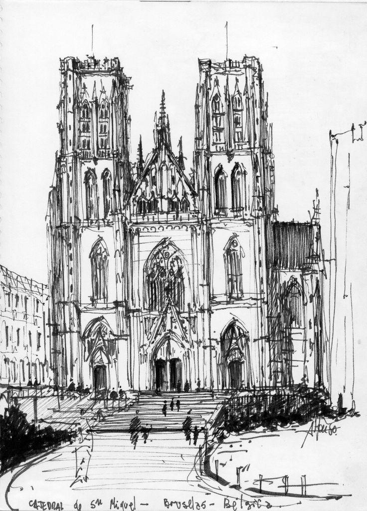 Iglesia Catedral de San Miguel de Bruselas