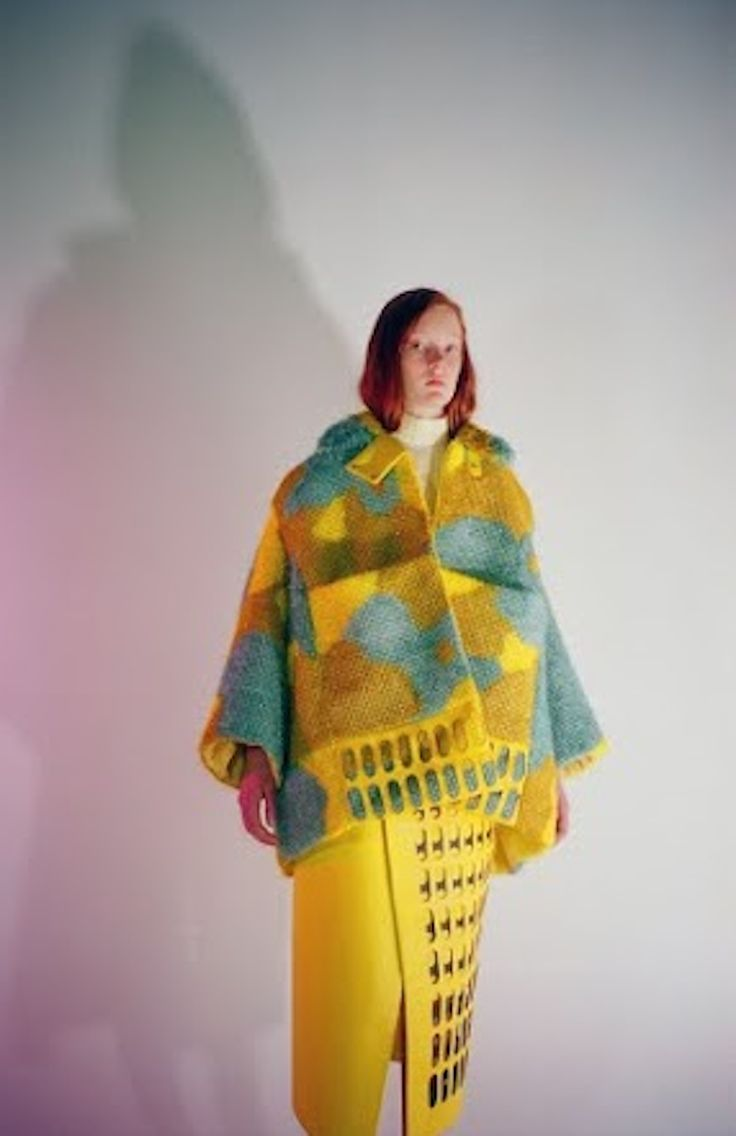 Stephanie Frig's Graduate Collection is Inspired By Fabulous Old Ladies #stephaniefrig #fashiondesign #studentfashiondesign #studentfashion #australianfashion #hautecouture #knitting #weaving #textiles #leather #ss16 #w17