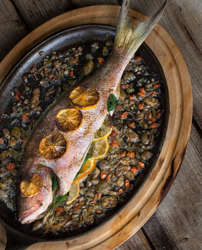 Whole fish cooked on the bone is always sweeter and tastier. Give it a try.