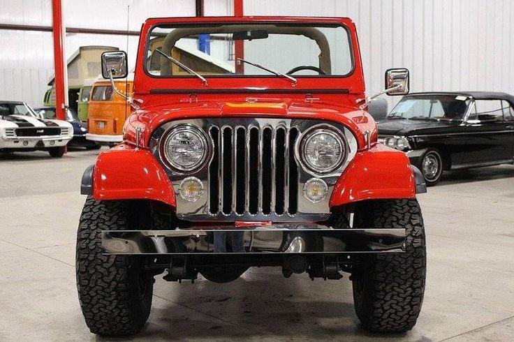 1977 Jeep CJ7 for sale #1894703 | Hemmings Motor News