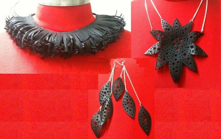 can you believe it's made out of bike inner tube??  lovely stuff