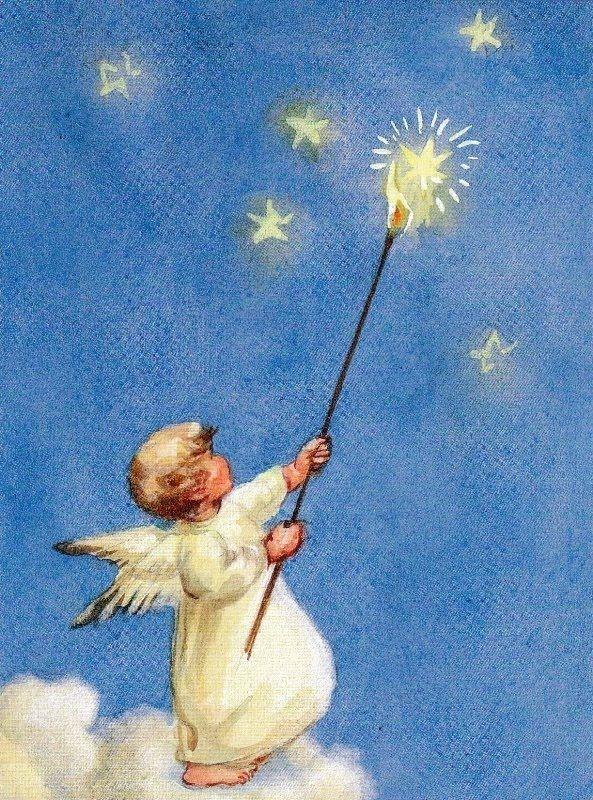 Every night... lighting the stars, Mili Weber (1891-1978)