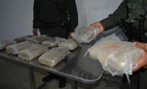 Policia Nacional se incauta 10 kilos de marihuana prensada