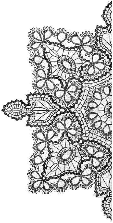 Going to get a doily tattoo at some point. I like the line work of this one.