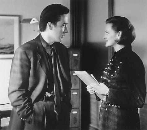 Still of John Cusack and Joan Cusack in Grosse Pointe Blank, cute brother and sister