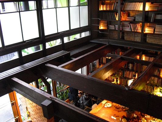 Kyoto Japan Cafe Bibliotec Hello Travelteq