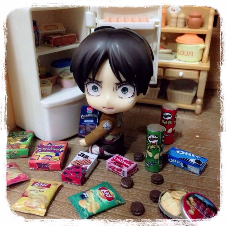 Eren, what are you doing in the middle of the night?
