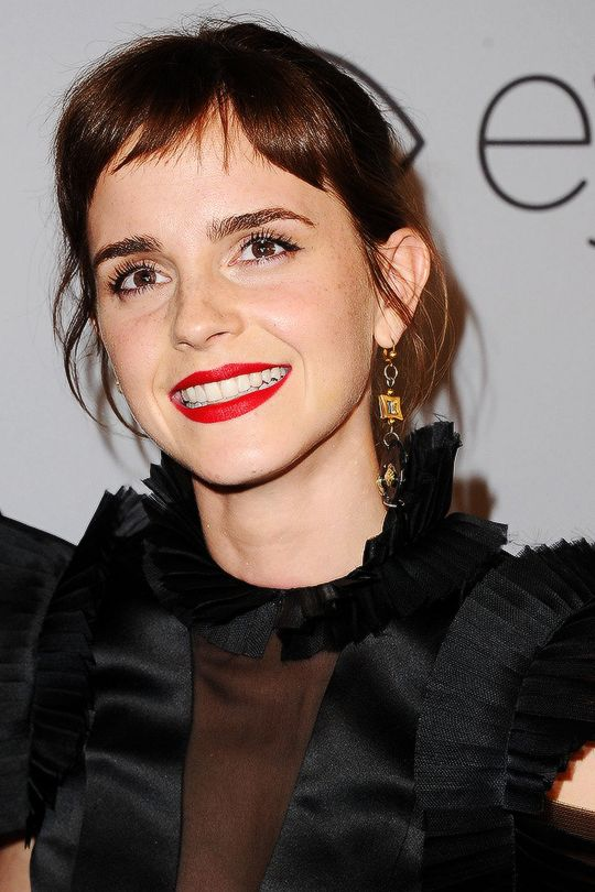 """"""" Emma Watson at InStyle and Warner Bros Golden Globes After Party in Los Angeles 