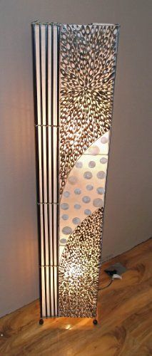 20 best images about Floor Lamps on Pinterest | Coins, Asian floor ...:Unusual Bali Lamp Hand Made Bamboo Slice Coin Lamp -150 cm Floor standing  Plantation Designs,Lighting