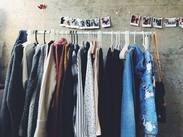 ropa de segunda mano armario