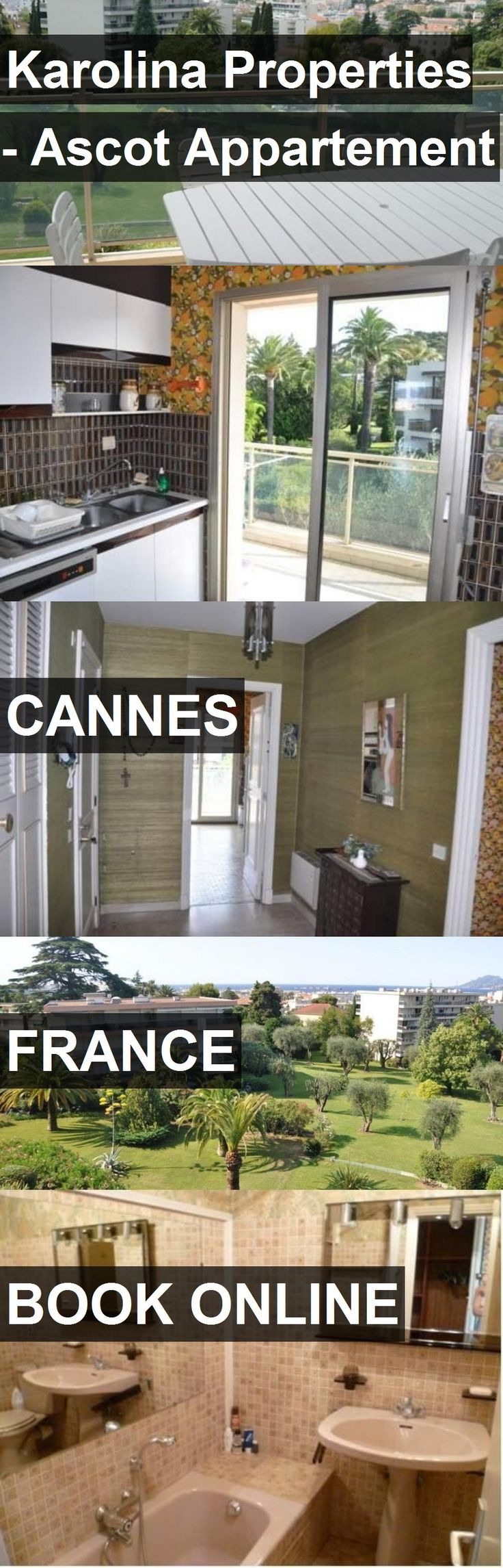 Hotel Karolina Properties - Ascot Appartement in Cannes, France. For more information, photos, reviews and best prices please follow the link. #France #Cannes #travel #vacation #hotel