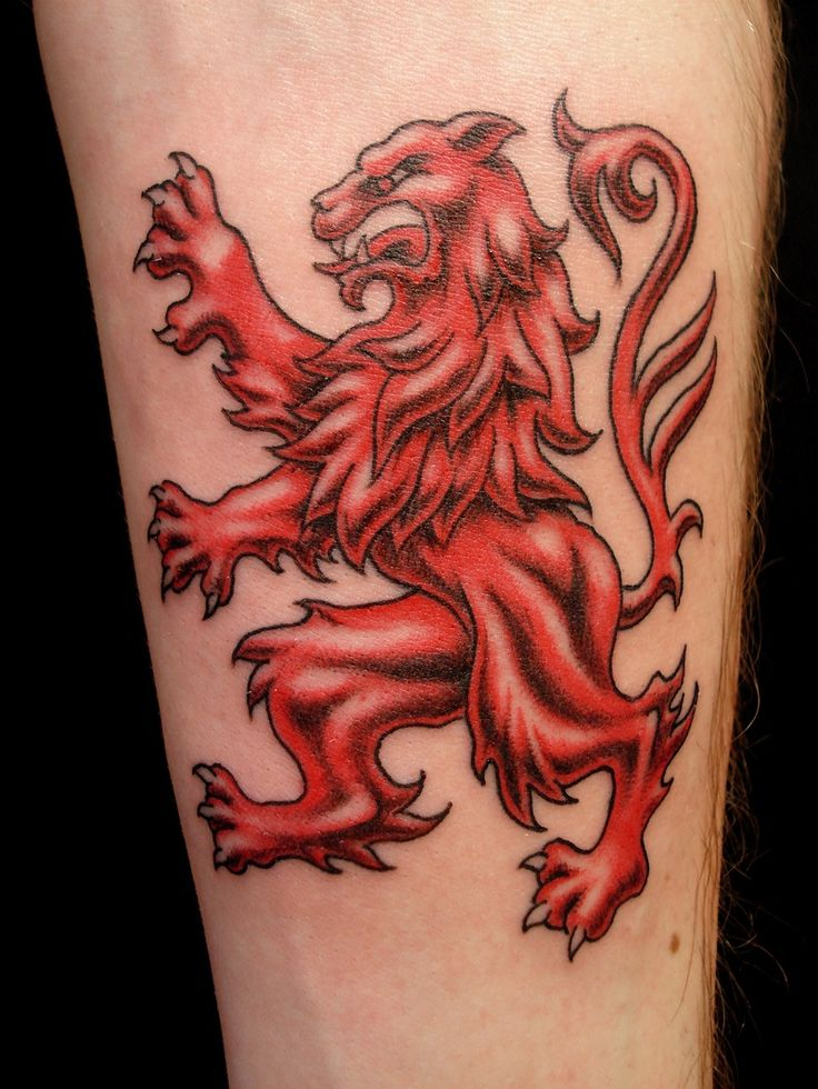 Scottish / Celtic Tattoo  http://www.Facebook.com/HeritageOfScotland.  The lion national flag