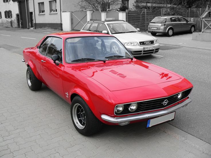 Opel Manta A in perfect condition. I owned two of these the first was a gold '71 and the second a red '72. Sweet cars, handled great.