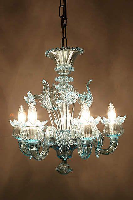 Murano Glass Chandelier - anthropologie.com #anthrofave #anthropologie