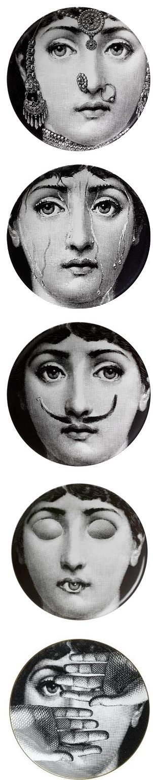 Fornasetti made Lina Cavalieri the original cindy sherman