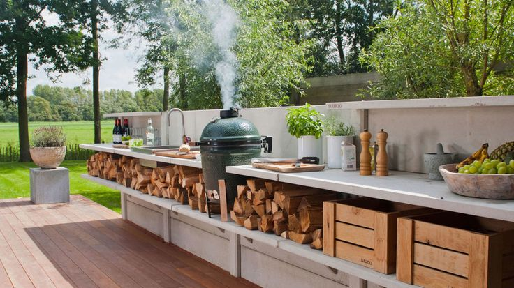 Modular Outdoor Kitchen  - CountryLiving.com