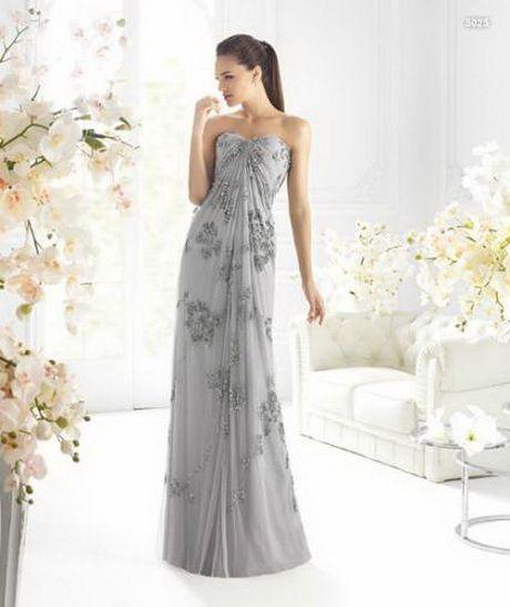 vestidos para boda de plata