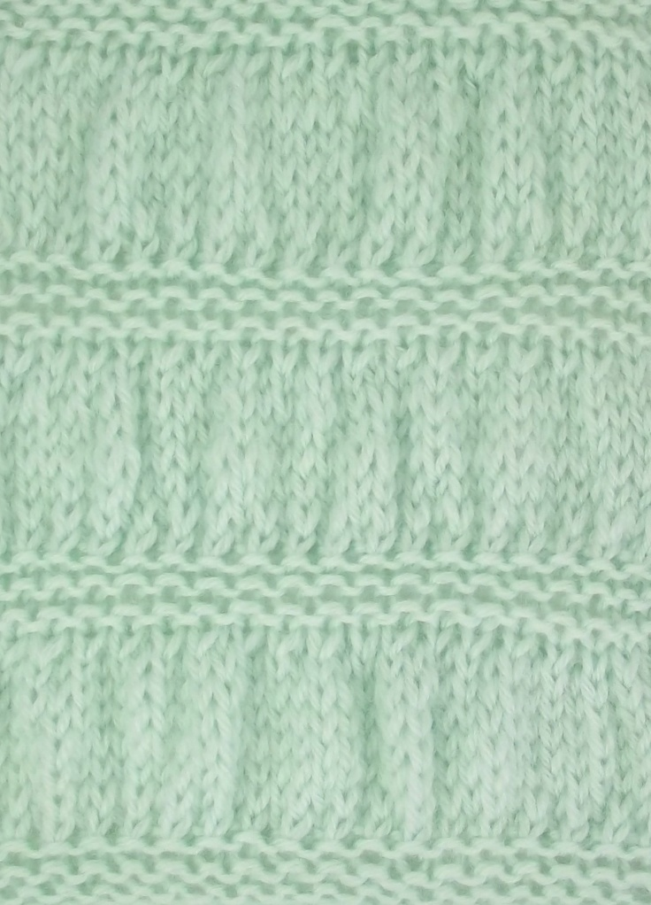 Knitting Gathered Stitches : 14 best images about March 2013 Knitting Stitch Patterns on Pinterest Cable...
